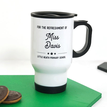 For The Refreshment Of… Travel Mug