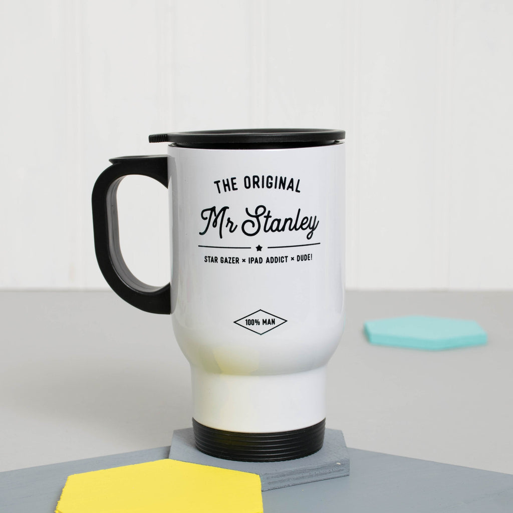 Personalised 'The Original Mr..' Travel Mug