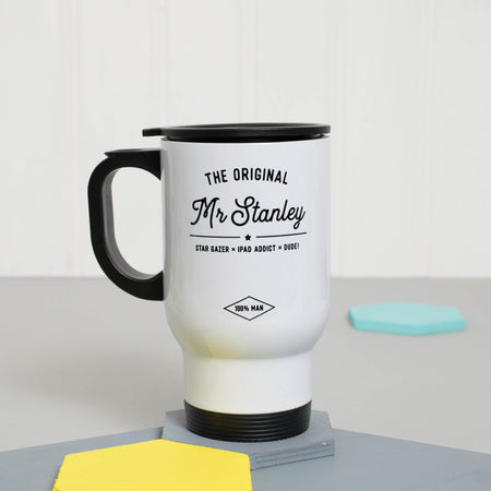 The Original Mr.. Travel Mug