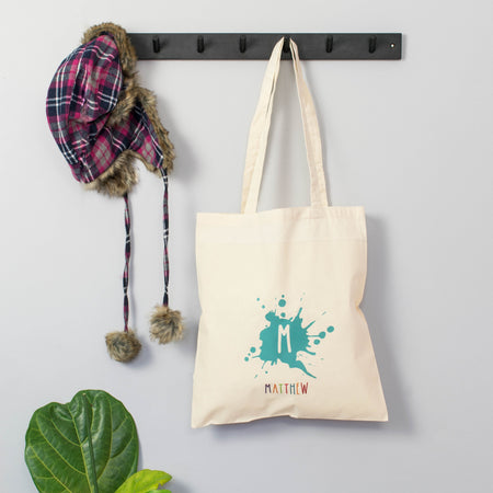 Personalised 'Initial And Name' Tote Bag