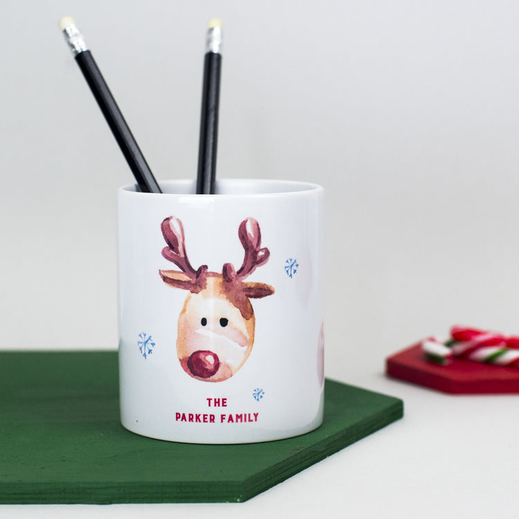 Personalised Christmas Desk Tidy