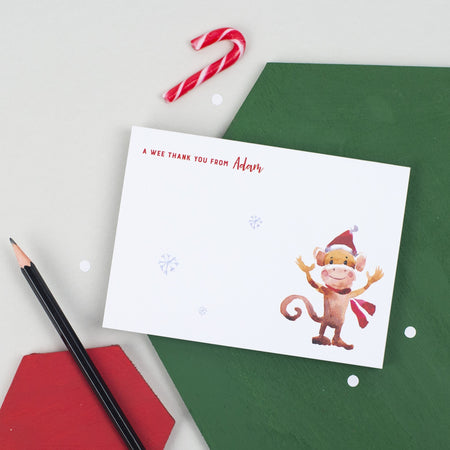 Christmas Thank You Notepad (A6)