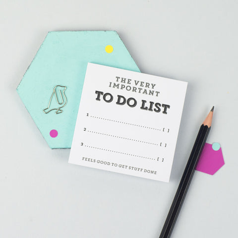 'To Do List' Sticky Notes