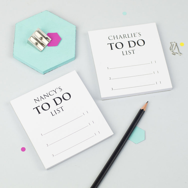 Classic To Do List Notepads (Pair of Mini)