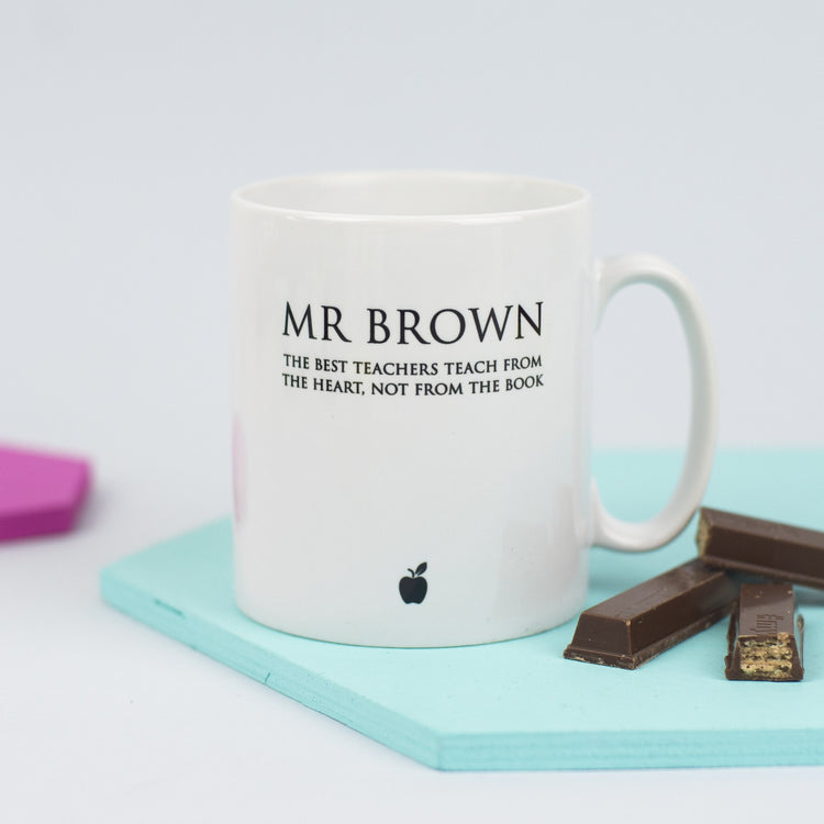 Personalised Classic Teacher's Mug