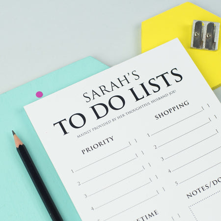 Classic To Do List Notepad (A5)