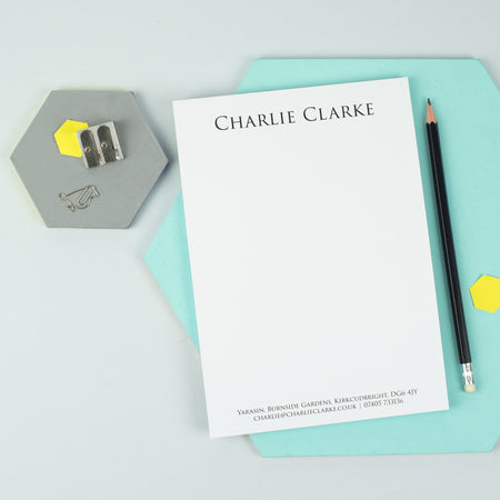 Classic Writing Paper Notepad (A5)