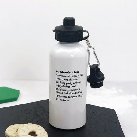 Dictionary Definition Water Bottle