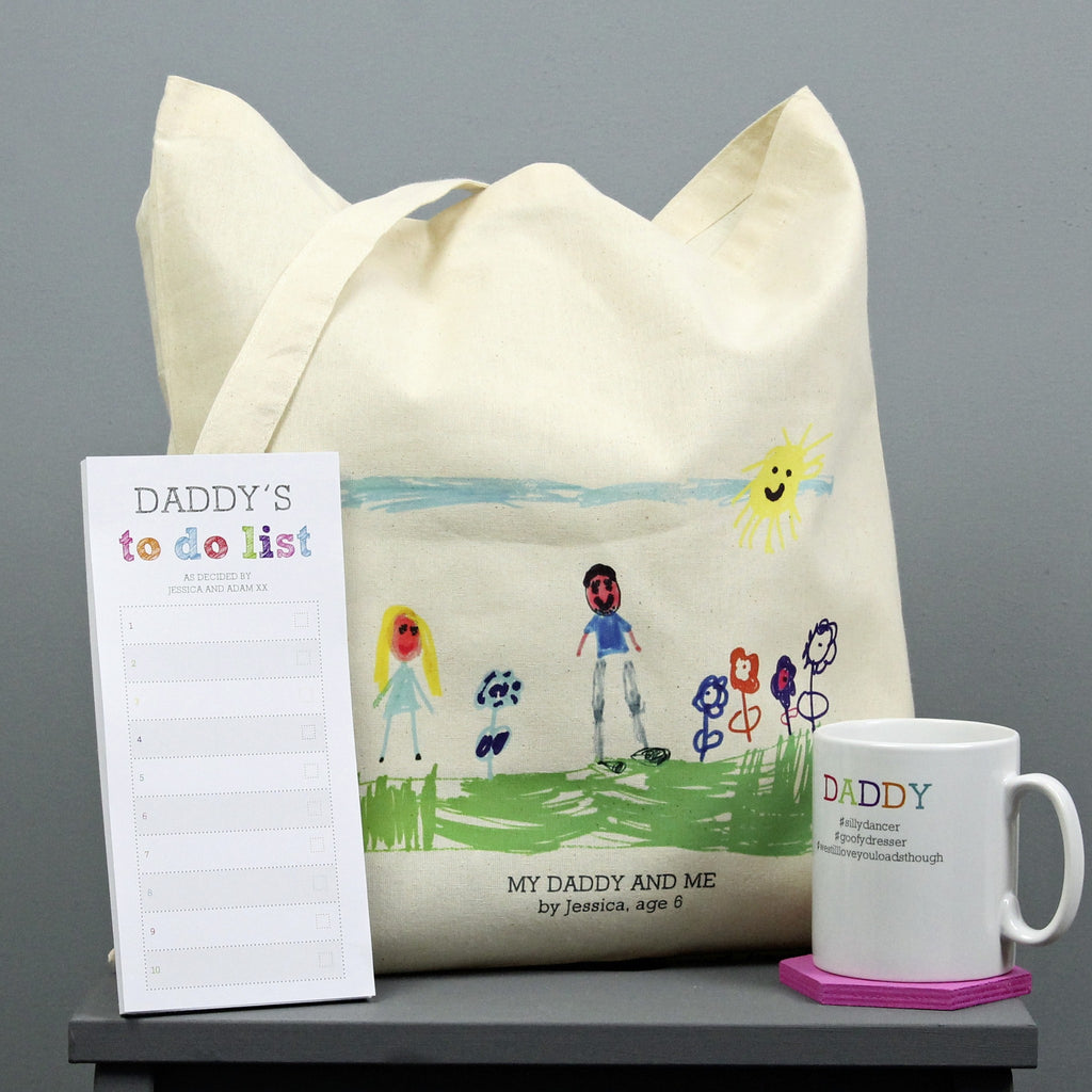 Personalised 'Down With The Kids' Father's Day Gift Set