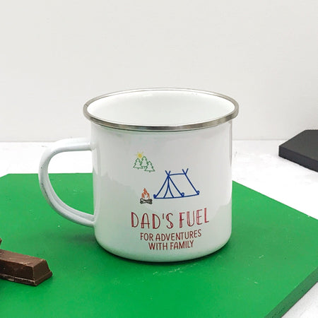 Adventure Fuel Enamel Mug