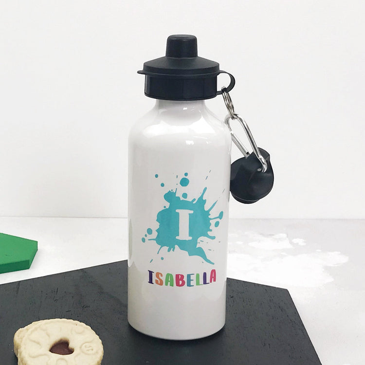 Initial And Name Water Bottle