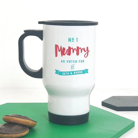 Number One Mummy Travel Mug
