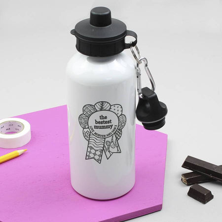 Personalised 'Bestest Mum' Mother's Day Water Bottle