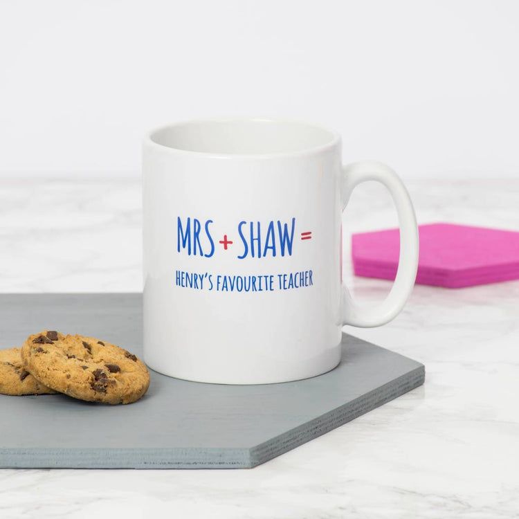 Personalised Favourite Teacher Mug