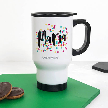 Personalised Happiness Travel Mug