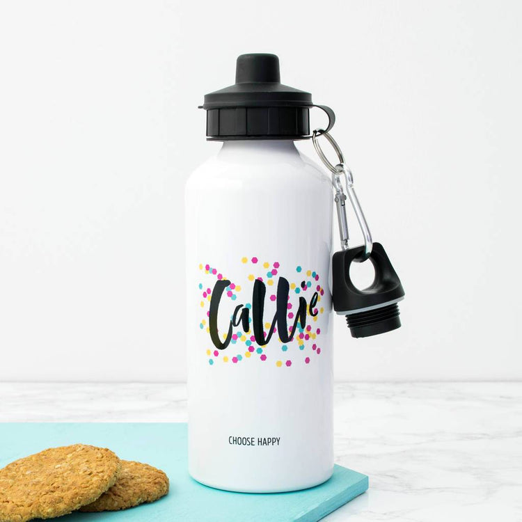Personalised Happiness Water Bottle