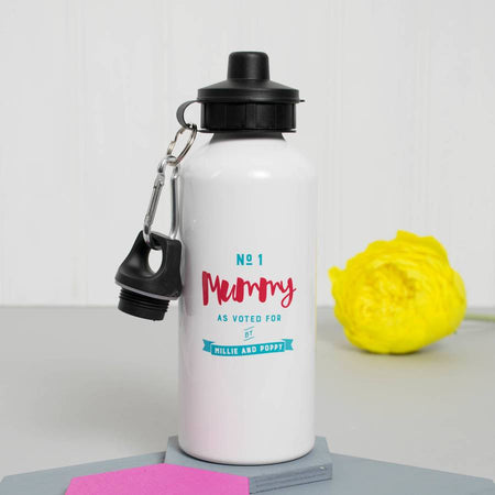 Personalised 'Number One Mummy' Water Bottle