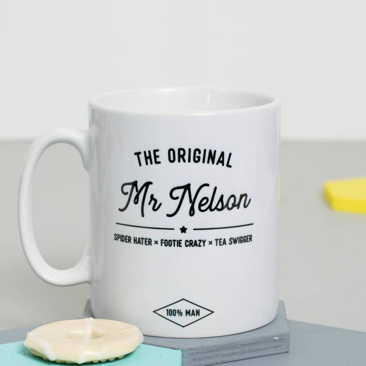 Personalised 'The Original Mr …' Mug