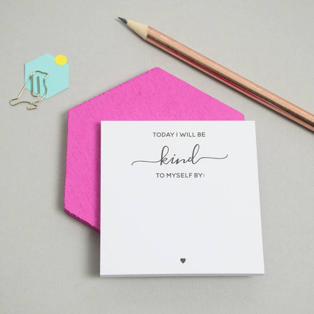 Breath, Kind and Positive Sticky Notes Set
