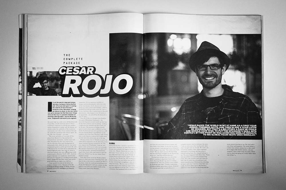 Dirt Magazine Issue 98 - Cesar Rojo