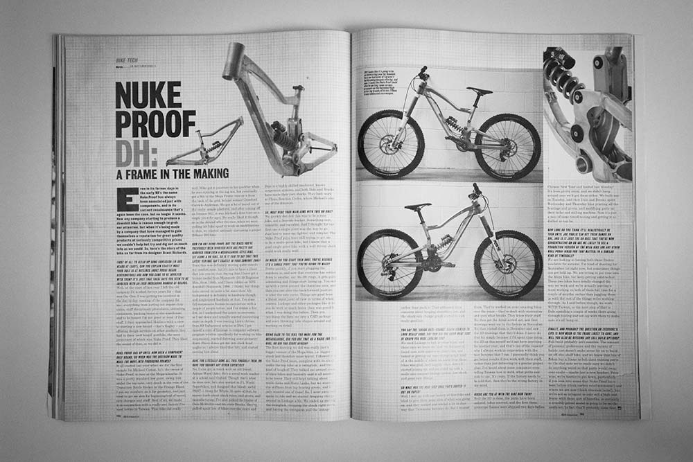 Dirt Magazine Issue 98 - Brant Richards & Nukeproof Scalp