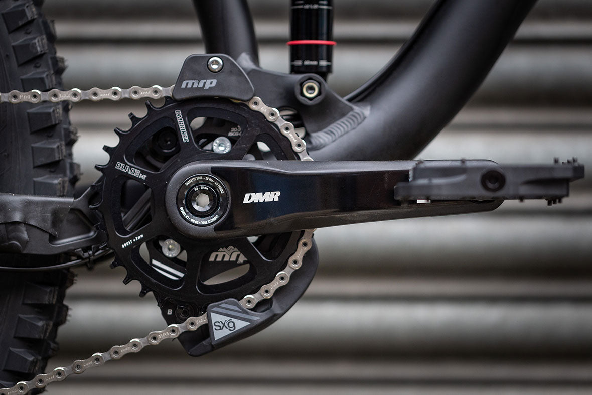 DMR Axe LE Crank and Blade Chainring