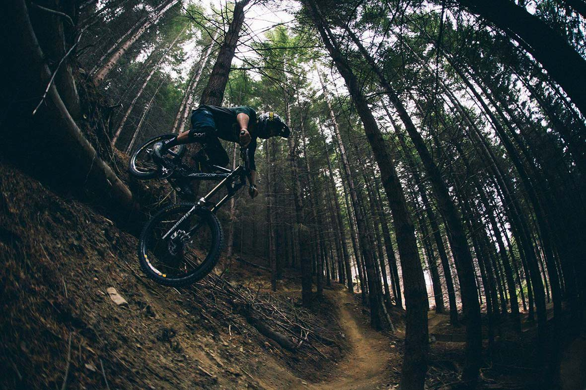 James Riding DH In Queenstown