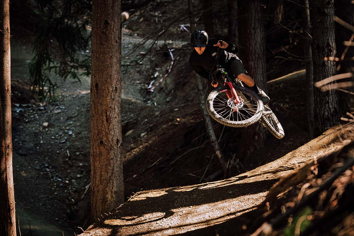 Callum Wood in Queenstown Bikepark