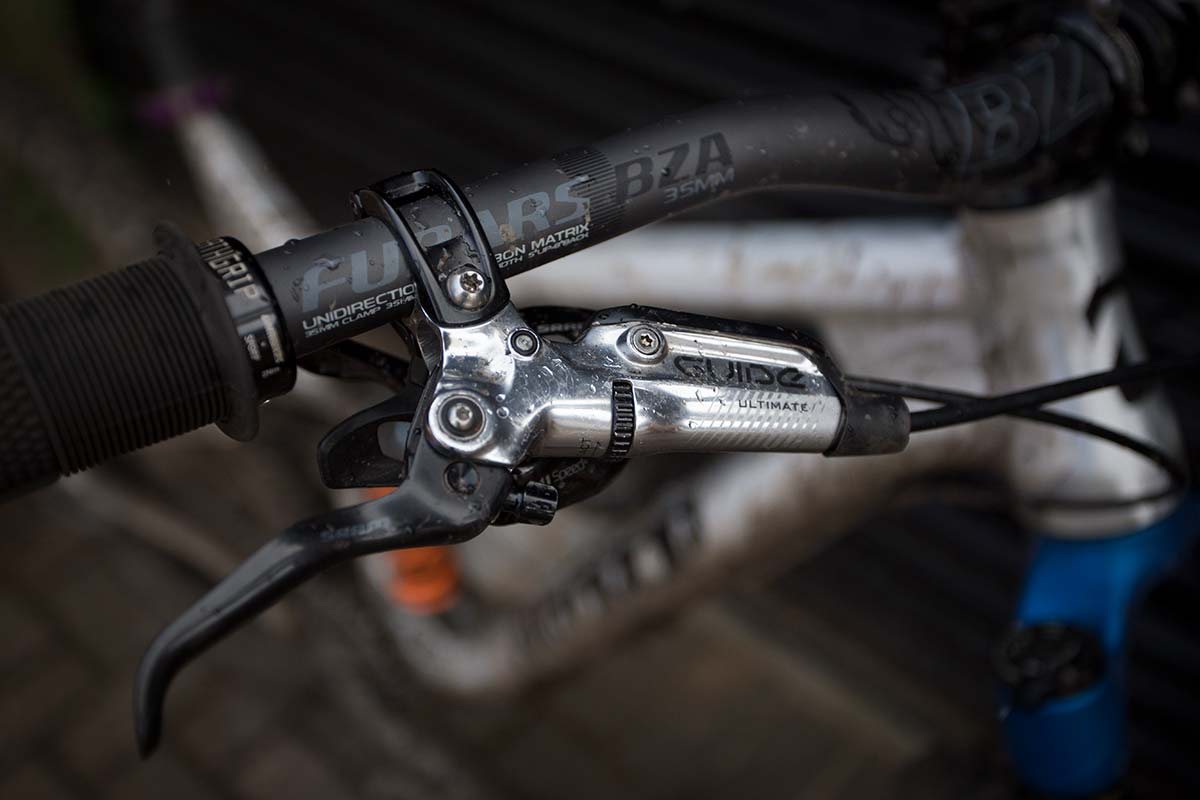 SRAM Guide Ultimate brakes on James' Edit v2