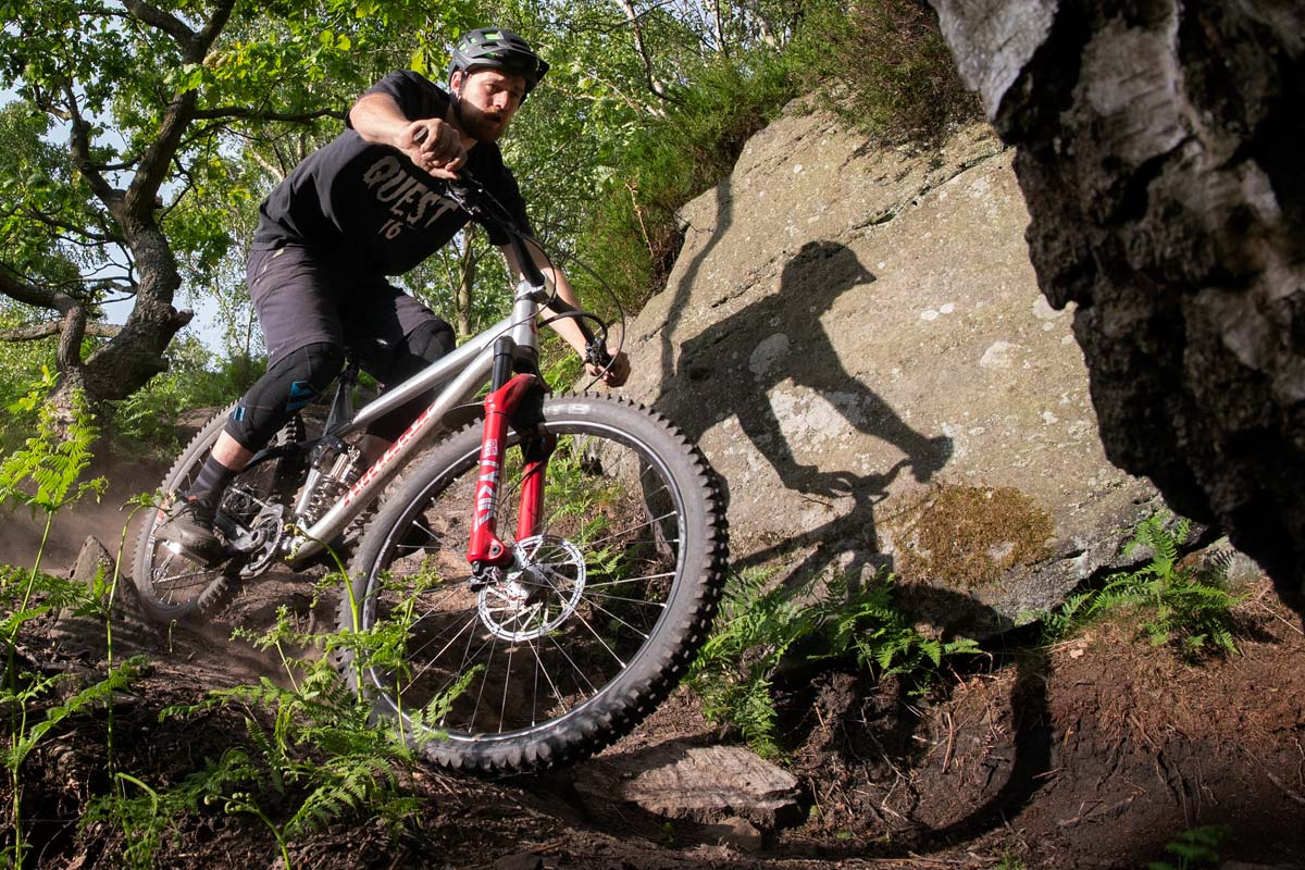 James Riding His Edit In Wharncliffe