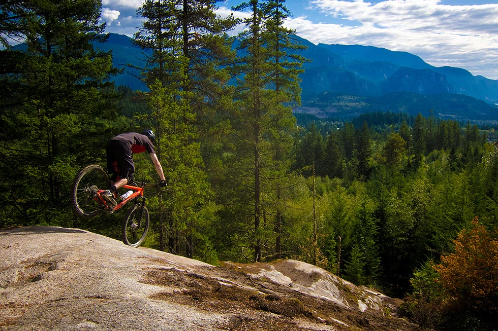 Graham Riding In Squamish