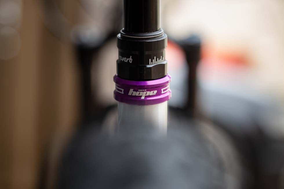 Purple Hope seat clamp