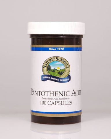 Nature's Sunshine Pantothenic Acid