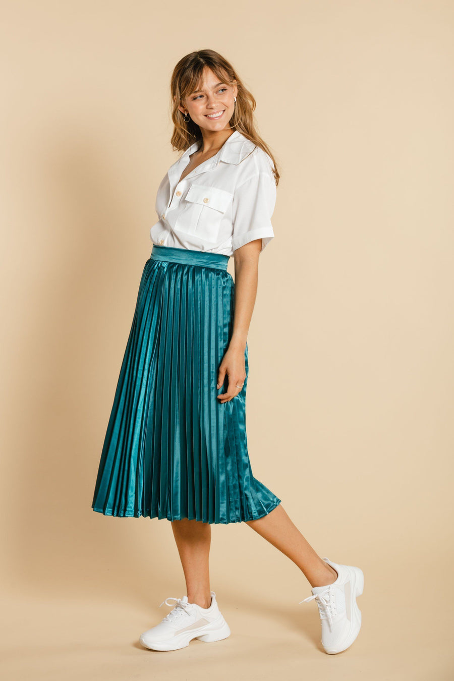 Accordion skirt