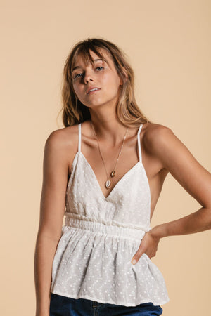 Camisole à triangles