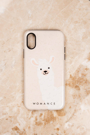 "Cellphone case ""Alpaca"""