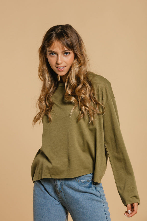 Oversized sweater - Khaki