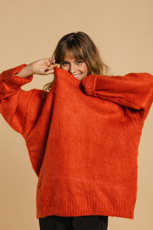 Chandail oversize - Orange