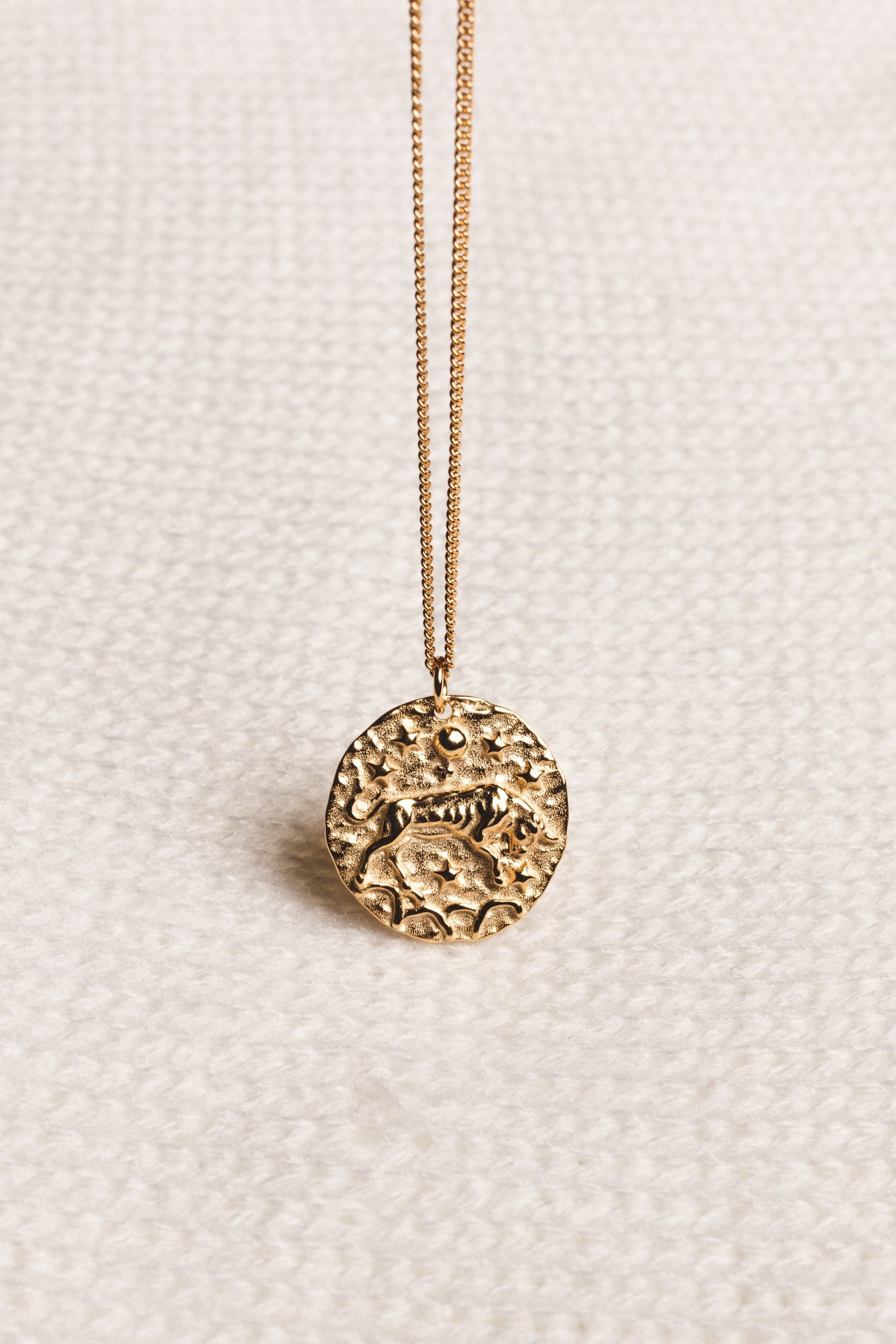 "Necklace ""Taurus"" - Gold"