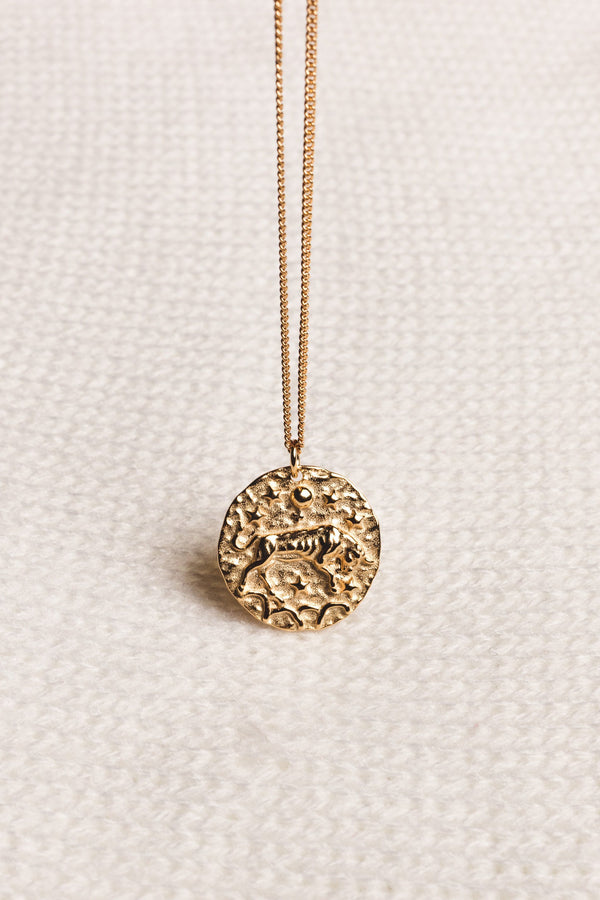 """Taurus"" necklace - WOMANCE Gold"