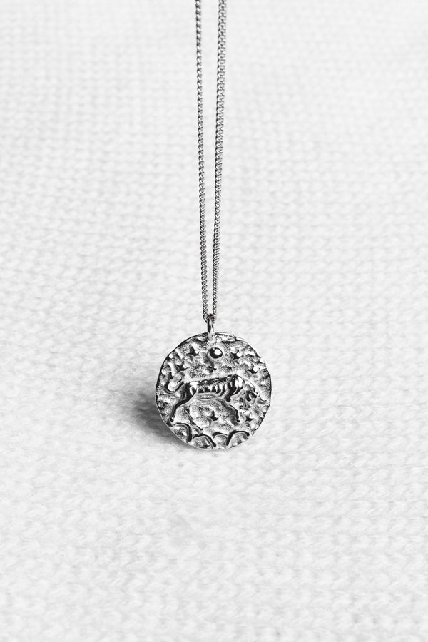 """Taurus"" necklace - Silver"