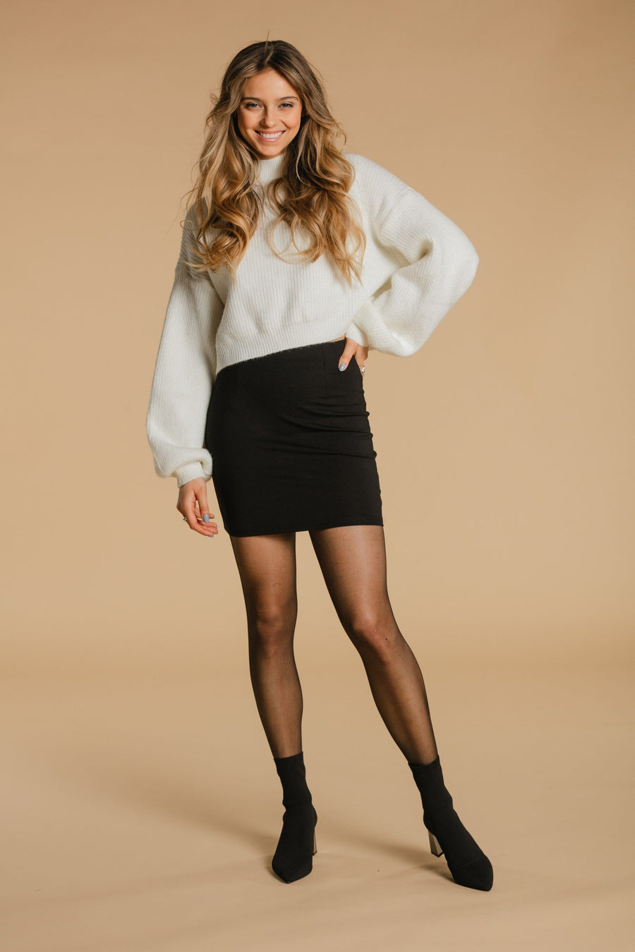 Short skirt - Black