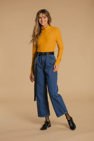 Turtleneck sweater - Yellow