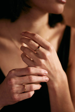 "Bague ""Dia"" Bague WOMANCE - Distribution"