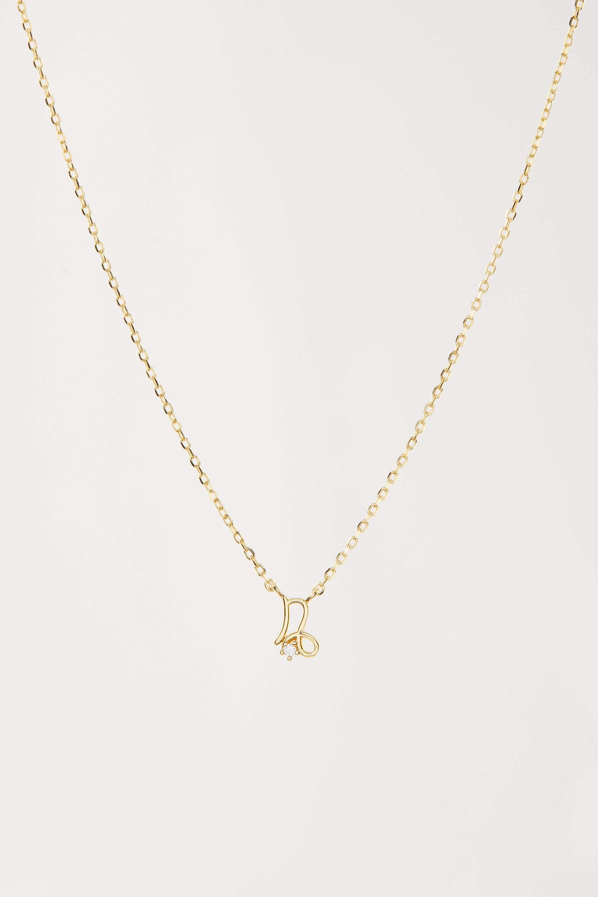 "Necklace ""Capricorn"" - Gold"