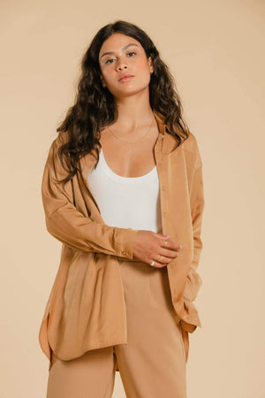 Chemise AY395 Chemise WOMANCE - Atelier XS Tobacco Brown