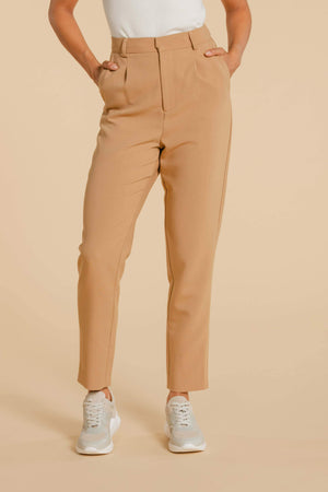 Pantalon AY579 Pantalon WOMANCE - Atelier XS Tobacco Brown