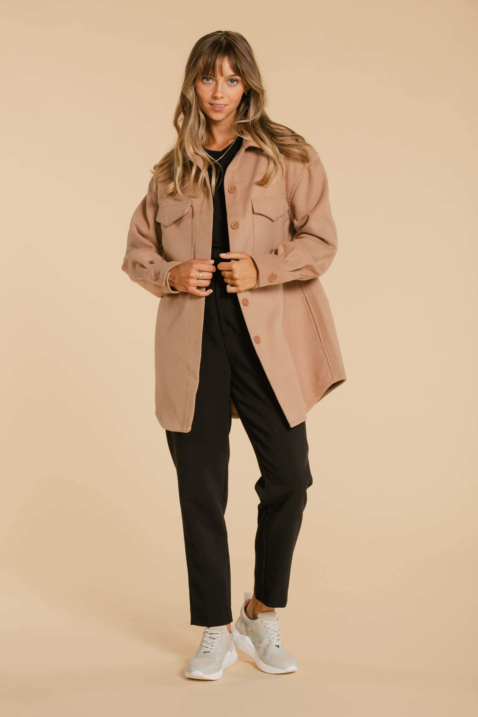 Manteau/Veste AY380 Manteau WOMANCE - Atelier XS Tobacco Brown