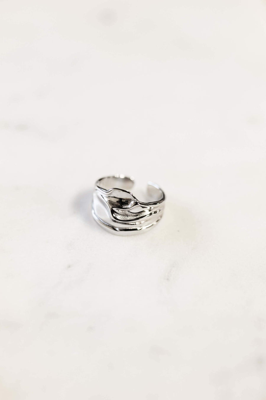 """Mada"" ring - WOMANCE Silver"