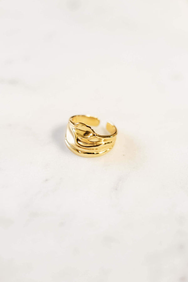 """Mada"" ring - Gold WOMANCE"